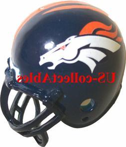 NFL Football Denver Broncos Football Helmet Keychain NEW Col