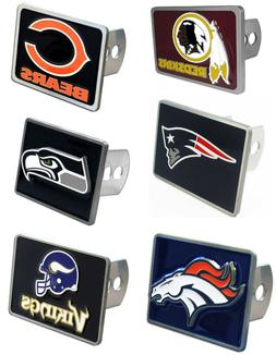 "NFL Team Trailer Hitch Receiver Cover for 2"" Trailer Hitches"
