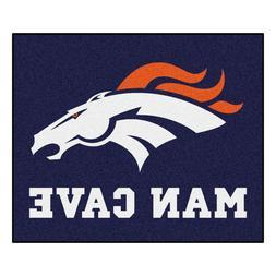 NFL - Denver Broncos Man Cave Tailgater Rug 60x72