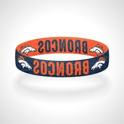 Reversible Denver Broncos Bracelet Wristband Mile High Rocky