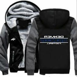Winter Thicken Football Hoodies Denver Broncos Sweatshirt La